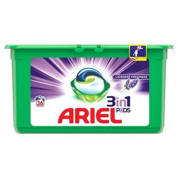 Ariel Lavender 3 w 1 Kapsułki do prania, 36prań