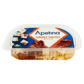 Arla Apetina Ser biały typu śródziemnomorskiego w zalewie olejowej z suszonymi pomidorami 100 g
