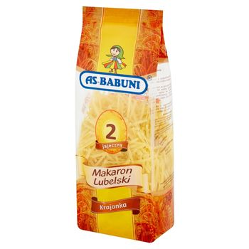 As-Babuni Makaron Lubelski 2 jajeczny krajanka 250 g