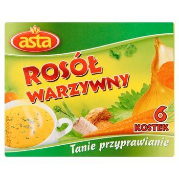 Asta Rosół warzywny 60 g (6 kostek)