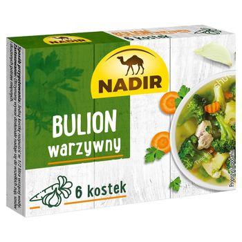 Nadir Bulion warzywny 60 g (6 x 10 g)