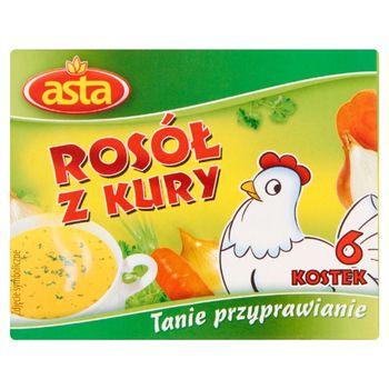 Asta Rosół z kury 60 g (6 kostek)
