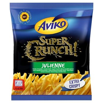 Aviko Super Crunch Julienne Bardzo chrupiące i cienkie frytki 750 g