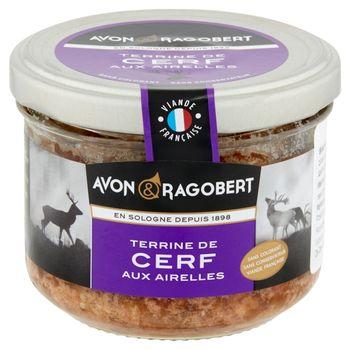 Avon & Ragobert Pasztet wieprzowy z jeleniem i żurawiną 180 g