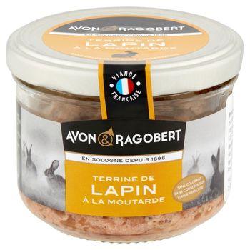 Avon & Ragobert Pasztet wieprzowy z królikiem i musztardą 180 g