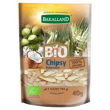 Bakalland Bio chipsy kokosowe 40 g