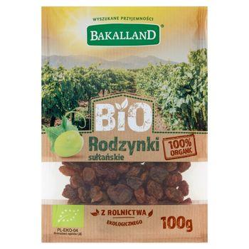 Bakalland Bio rodzynki sułtańskie 100 g