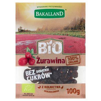 Bakalland Bio żurawina 100 g