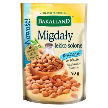 Bakalland Migdały lekko solone prażone 90 g