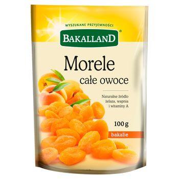 Bakalland Morele całe owoce 100 g