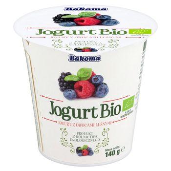 Bakoma Jogurt Bio z owocami leśnymi 140 g