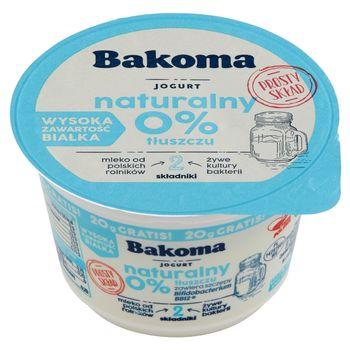 Bakoma Jogurt naturalny 190 g