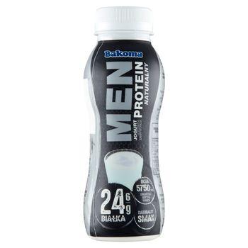Bakoma Men Jogurt z wysoką zawartością protein naturalny 230 g