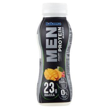 Bakoma Men Jogurt z wysoką zawartością protein mango 230 g