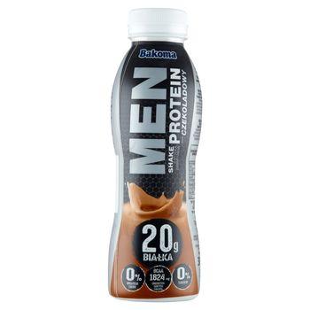 Bakoma Men Shake z wysoką zawartością protein smak czekoladowy 380 g