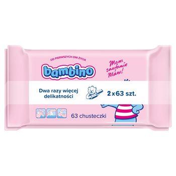 Bambino Chusteczki dla niemowląt 2 x 63 sztuki