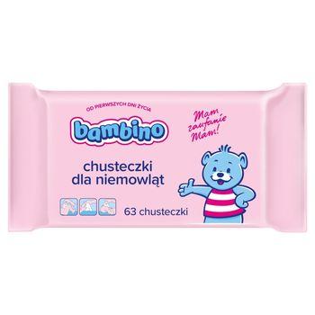 Bambino Chusteczki dla niemowląt 63 sztuki