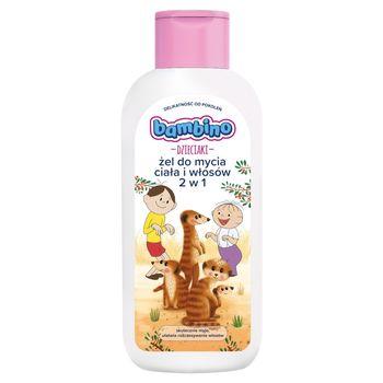 Bambino Dzieciaki Żel do mycia ciała i włosów 2 w 1 400 ml