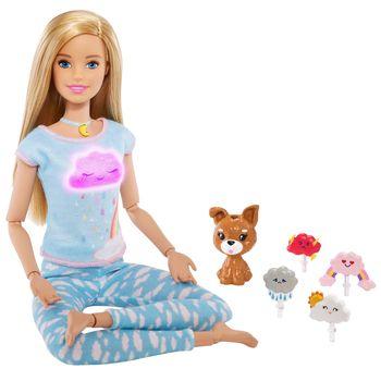 BARBIE Lalka Medytacja z dźwiękami