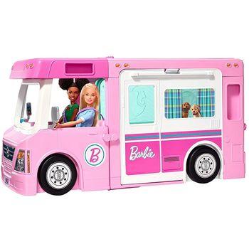 Barbie Kamper 3 w 1 z akcesoriami GHL93