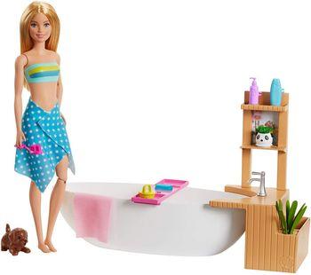 Lalka Barbie Relaks w kąpieli GJN32