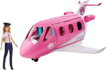 Barbie Samolot + Lalka pilotka GJB33