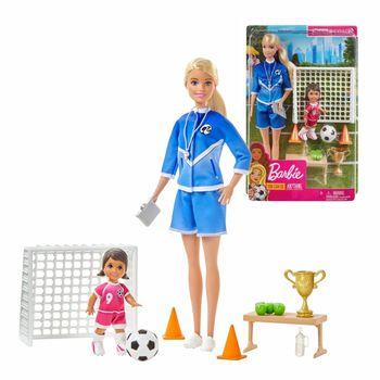 Barbie Trenerka Piłki Nożnej GLM47