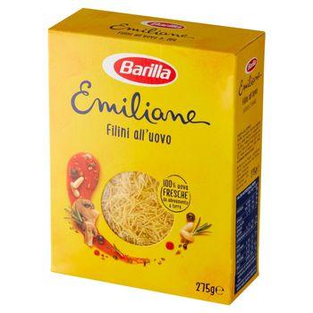 Barilla Emiliane Makaron jajeczny filini 275 g