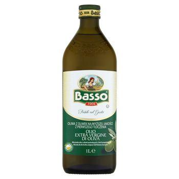 Basso Oliwa z oliwek najwyższej jakości z pierwszego tłoczenia 1 l
