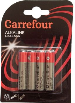 Bateria CARREFOUR AAA 4 szt. DY50173_001