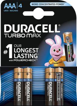 Bateria DURACELL Turbo PowerCheck LR03/AAA MN2400 K4