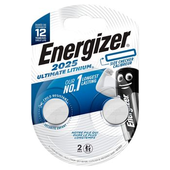 Bateria Energizer Ultimate CR2025 /2 szt.