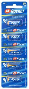 Bateria ROCKET 27A 5 sztuk 5907591221652