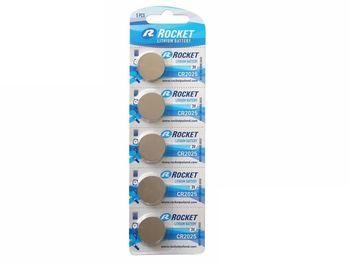Bateria ROCKET CR2025 5 sztuk 5907591221638