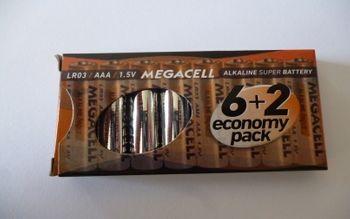 Bateria ROCKET LR03 8 sztuk 5907591221720