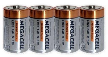 Bateria ROCKET LR20 D 4 sztuki 6921465519194