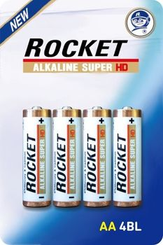 Bateria ROCKET LR6 4 sztuki 8801604275243