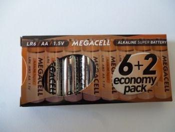 Bateria ROCKET LR6 8 sztuk 5907591221713