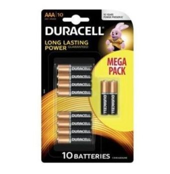 Baterie Duracell AAA 10 szt.