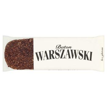 Baton Warszawski Baton czarna porzeczka i kokos 60 g