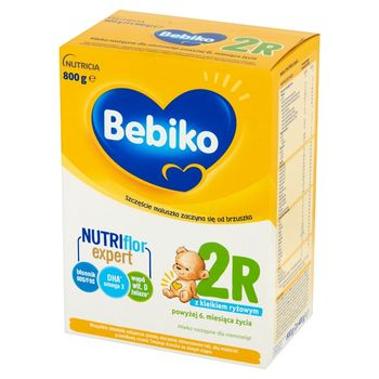 Bebiko 2R Mleko następne dla niemowląt powyżej 6. miesiąca życia 800 g (2 x 400 g)