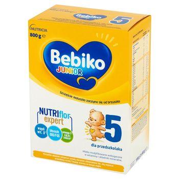 Bebiko Junior 5 Mleko modyfikowane dla dzieci powyżej 2,5. roku życia 800 g (2 x 400 g)