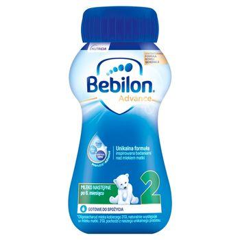 Bebilon 2 Pronutra-Advance Mleko następne po 6. miesiącu 200 ml