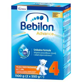 Bebilon 4 Pronutra-Advance Mleko modyfikowane po 2. roku 1100 g (2 x 550 g)