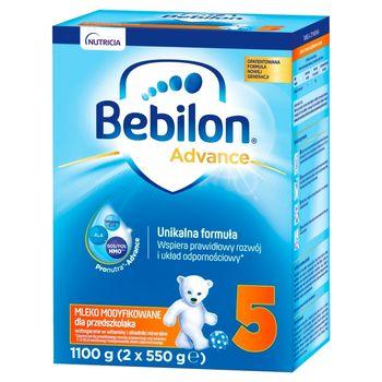 Bebilon 5 Pronutra-Advance Mleko modyfikowane dla przedszkolaka 1100 g (2 x 550 g)