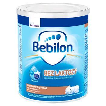 Bebilon Bez laktozy Pronutra Mleko początkowe od urodzenia 400 g