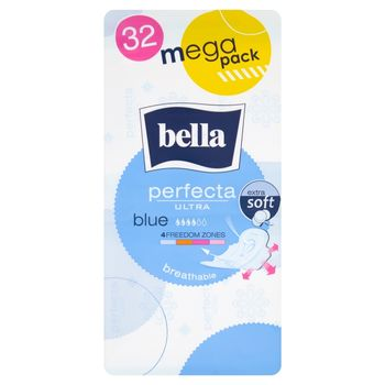 Bella Perfecta Ultra Blue Podpaski higieniczne 32 sztuki