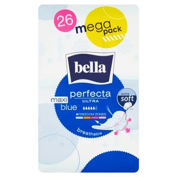 Bella Perfecta Ultra Maxi Blue Podpaski higieniczne 26 sztuk