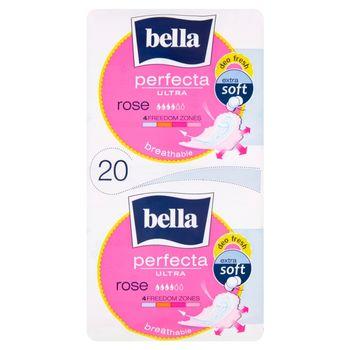 Bella Perfecta Ultra Rose Podpaski higieniczne 20 sztuk