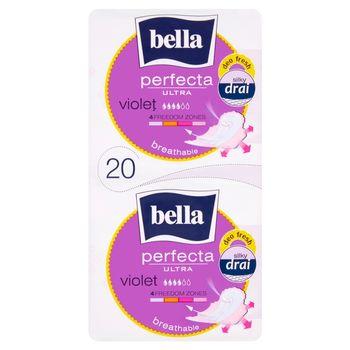 Bella Perfecta Ultra Violet Podpaski higieniczne 20 sztuk